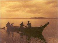 Foto de canoa india