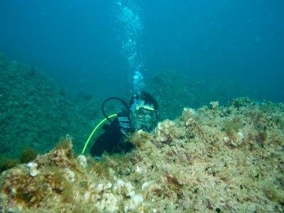 Inmersión de buceo con equipo completo, Jávea