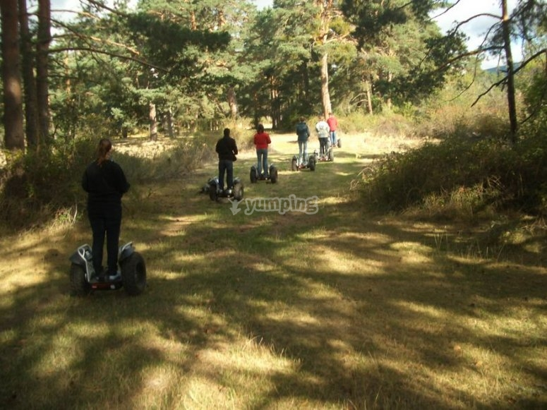 Experiencia con segway en Soria