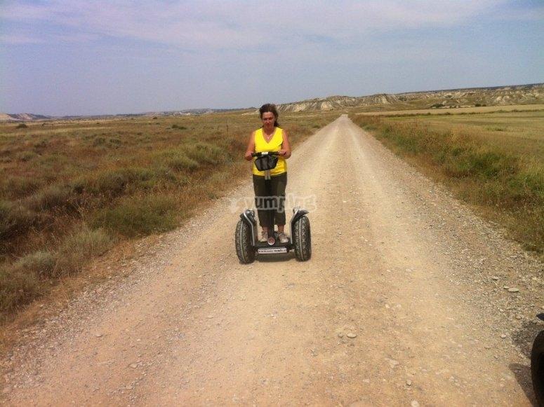 Segway route Soria