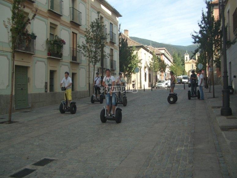 Circulating Segovia in a Segway