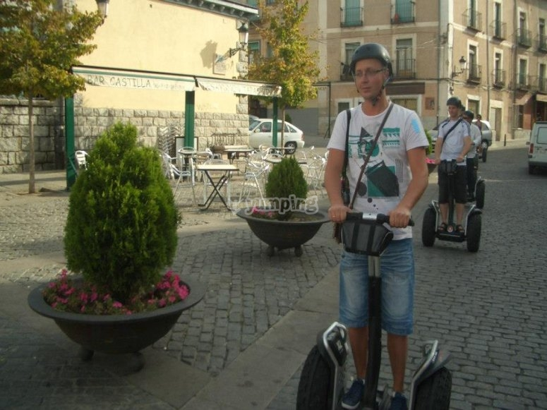 Segway tour in Segovia