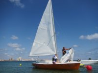Learning about sailing