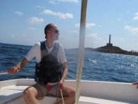 In the course of sailing initiation