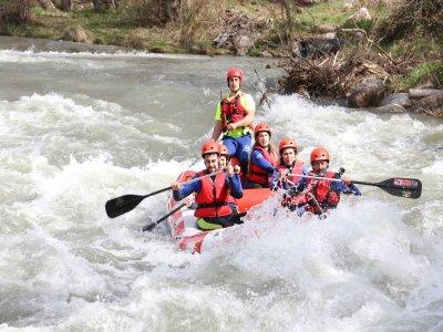 Barranquismo o rafting y alojamiento Lleida 1 día