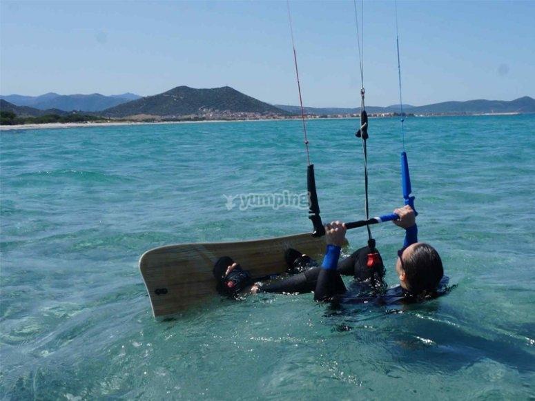 Lecciones de kitesurf en Mojácar