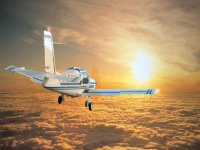 Light aircraft in Requena or Olocau, 30 min.
