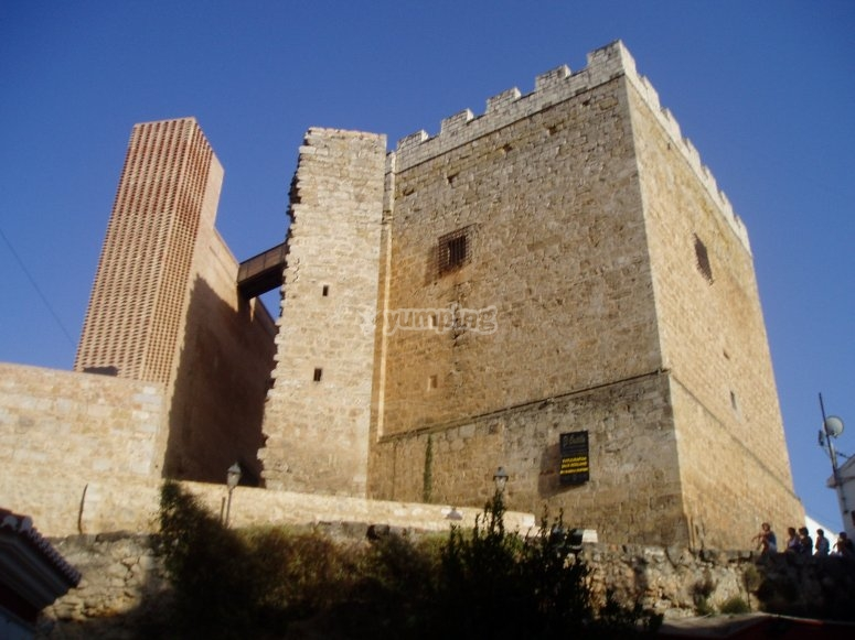 El castillo de Requena