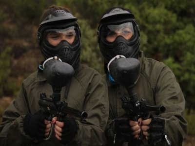 Paintball with 200 balls in Valdecomenas de Abajo