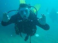 享受自由潜水