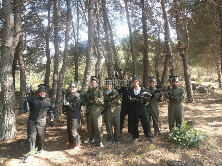 Escuadron de paintball