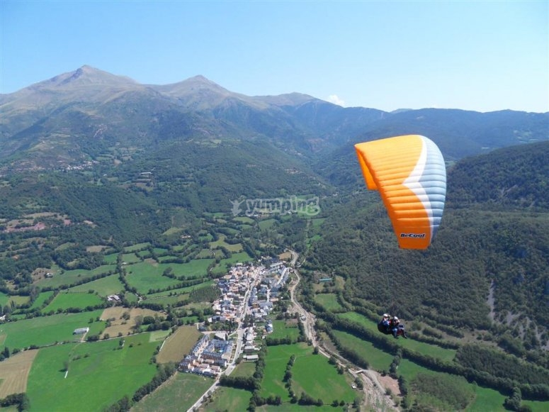 Landscapes from the paraglider