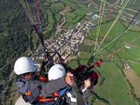 An amazing paragliding flight