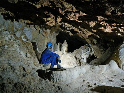 Caving for beginners in Madrid