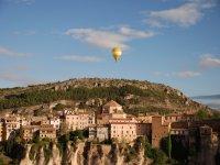 Vuelo en globo por la ciudad