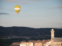La Torre de Mangana vista desde el globo