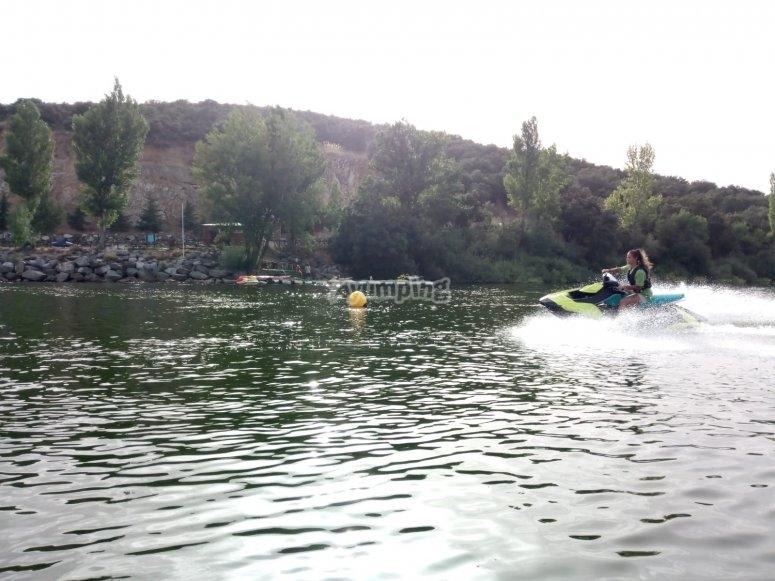 Jet ski in San Rafael