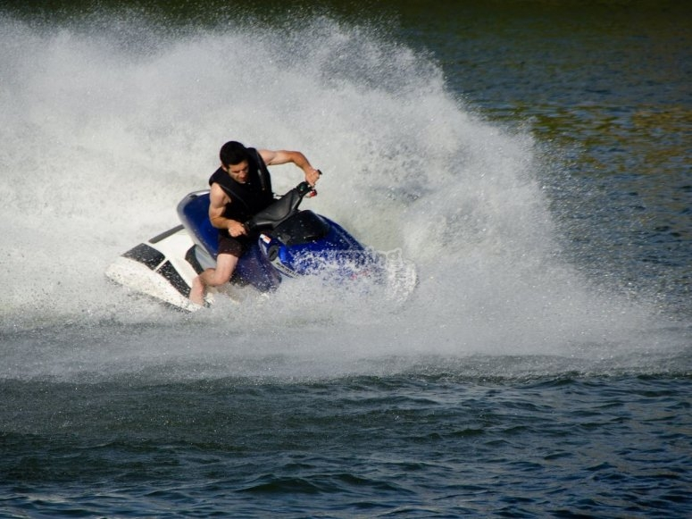 Moto de agua en San Rafael