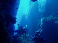 gruta submarina