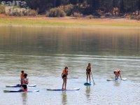 Genil河上的划桨冲浪路线