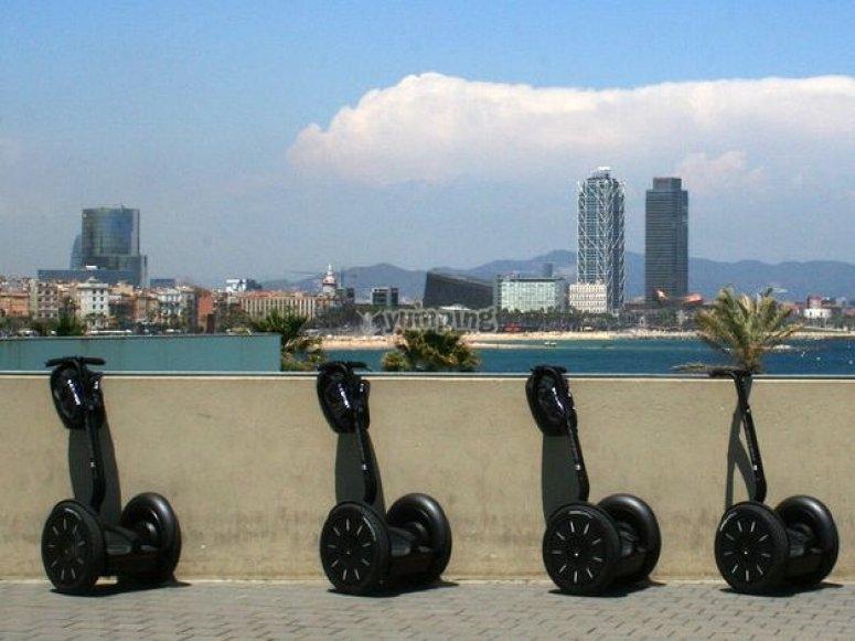 Sea views, Barcelona