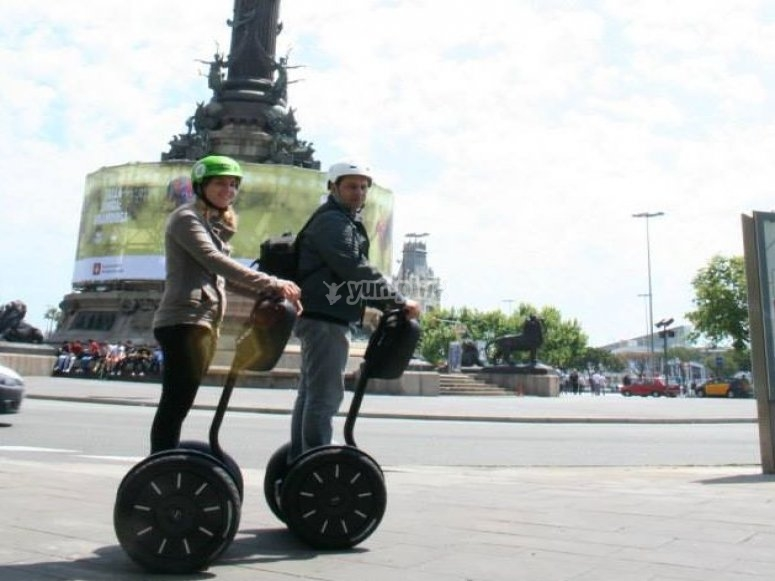 Ride a Segway in Barcelona