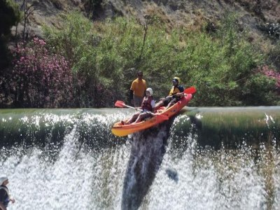 Curso de piraguismo por el río Segura, 10 días