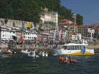 在Hondarribia乘船游览,4小时