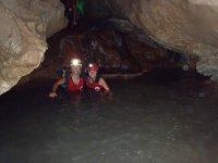 Speleologia secca e semi-acquatica