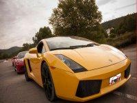 Lamborghini Gallardo 1 vuelta  circuito de Kotarr
