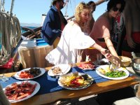 船上自助餐