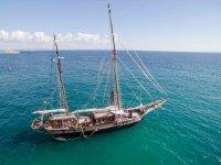 经典帆船的中途,始于1841年
