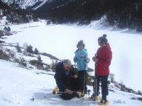 在La Cerdanya或Berguedà进行雪鞋行走。 3小时