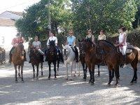 Ruta a caballo nocturna + aperitivo, 20 y 21 sept.