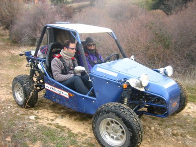 1h Special Off-Road tandem Buggy tour El Casar