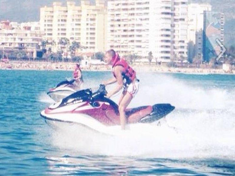 Rutas motos de agua Gandia