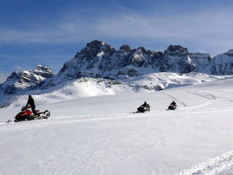 Snowmobile trip