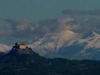 Montanas nevadas en la sierra de Huesca