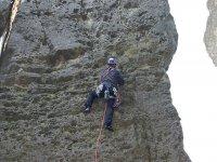 Escalada en diferentes tipos de roca