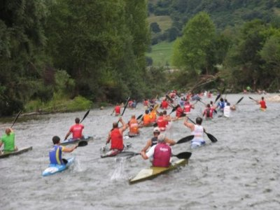Canoeing, from Panes to Unquera, 3h30m