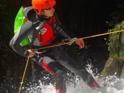 Canyoning in River Navedo. 2h30m