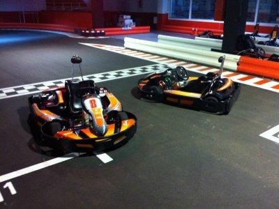 Tanda karting adultos en Zaragoza, 7 minutos