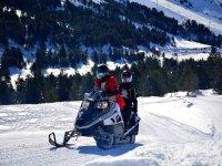 Rutas de motos de nieve