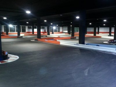 Karting per bambini di 7 minuti a Saragozza