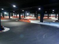 Tanda karting infantil en Zaragoza, 7 minutos
