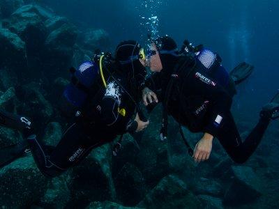 Coppia di immersioni a Lanzarote