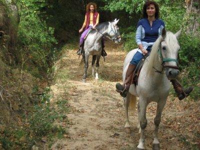 4 ore a cavallo nella valle di Zamanzas