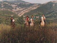 1 día de camino a caballo entre Burgos y Santander