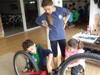 Learning to repair the bike