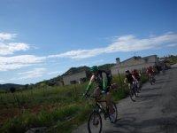 Cycling through Es Fangar
